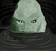 Creature From the Black Lagoon by because-skulls