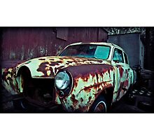As I drove away slowly, feeling so holy, God knows, I was feeling alive. Photographic Print