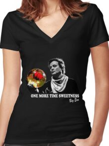 Kingpin - Big Ern Women's Fitted V-Neck T-Shirt