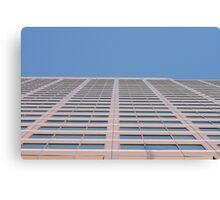 Window Landscape Canvas Print