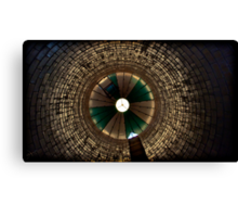 there's no light in the tunnel, no irons on the fire Canvas Print