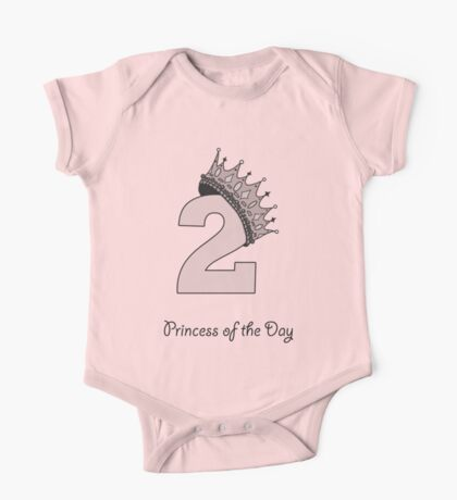 Princess of the day, two years One Piece - Short Sleeve