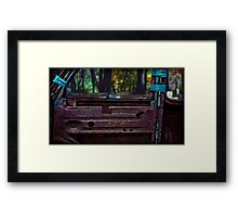 or did someone do somebody wrong? Framed Print