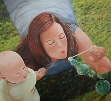 soap bubbles by Rossella Buscemi