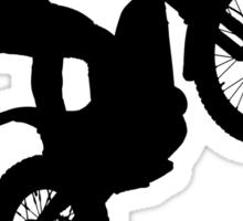 Trials Rider Black Sticker