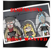 Dimensions Most Wanted Poster