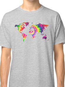 Tye Dye World  Classic T-Shirt