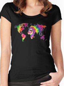 Tye Dye World  Women's Fitted Scoop T-Shirt