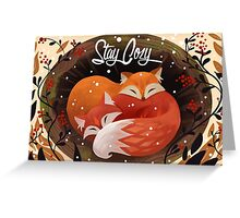 Stay Cozy Greeting Card
