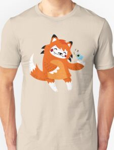 the fox and the bird Unisex T-Shirt