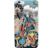 tribe dance iPhone Case/Skin