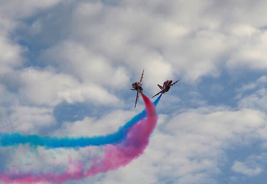 Red Arrows by John Corson Photography