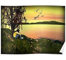 Enjoying the View Poster
