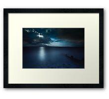 181 Seconds Framed Print