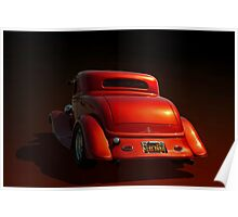 "1934 Ford ""Metallic"" Coupe Poster"