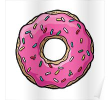 The Simpsons - Doughnut Poster