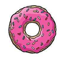 The Simpsons - Doughnut Photographic Print