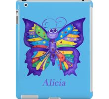 A Yoga Butterfly for Alicia iPad Case/Skin