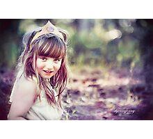 Mountain Princess Photographic Print