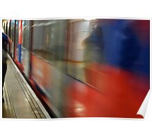 moving tube Poster