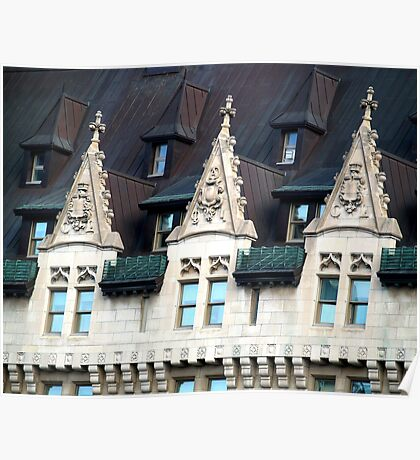 Chateau Laurier, Ottawa, Ontario, Canada Poster