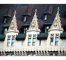 Chateau Laurier, Ottawa, Ontario, Canada Photographic Print