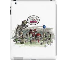 Zombieeeeeeeeeez iPad Case/Skin