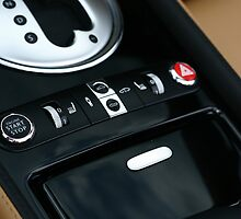 Bentley GTC - Shifter Console  by Daniel  Oyvetsky