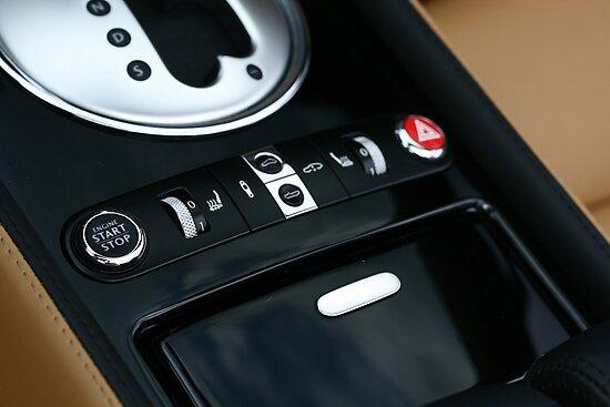 Bentley GTC - Shifter Console  by Daniel  Oyvetsky