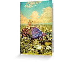 The Big Trip (portrait) Greeting Card