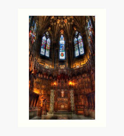 Thistle Chapel Art Print