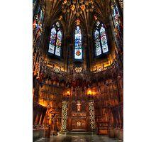 Thistle Chapel Photographic Print