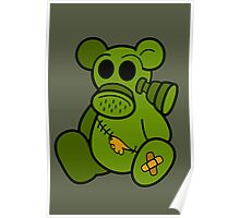 Toxic Teddy Poster