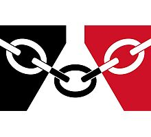 Black Country Flag Photographic Print