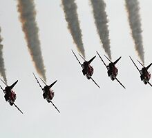 Red Arrows 5 over . by SWEEPER