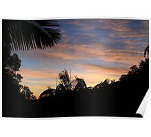 Dawn Over The Valley Poster
