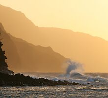Na Pali Sunset by Rob Emery