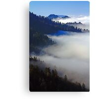 VALLEY OF CLOUDS Canvas Print