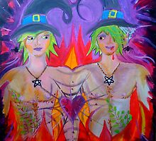 The Lovers - My Witch Tarot Set by jonkania