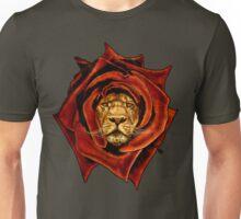 the Lion Rose Unisex T-Shirt