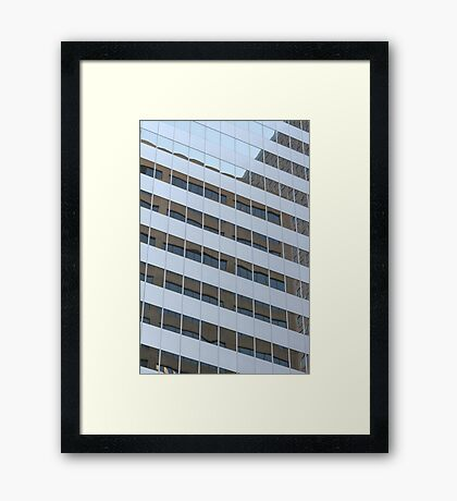 Window Panes Framed Print