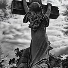 Girl on a Cross by Brad Walsh