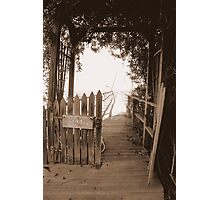 Private Pier Photographic Print