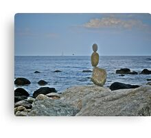 Sailing ~ Flying ~ Floating ~ or Meditating ~ Toward the Ocean Canvas Print