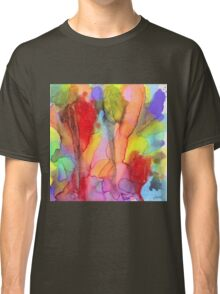 2 Art Abstract Watercolor Modern Prints by Robert R (Erod Art) Classic T-Shirt