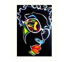 Color Me Cool Art Print