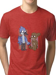 mordecai and rigby  Tri-blend T-Shirt