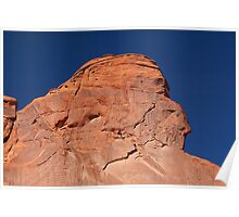 Red Rock Indian Chief (Monument Valley, Arizona) Poster