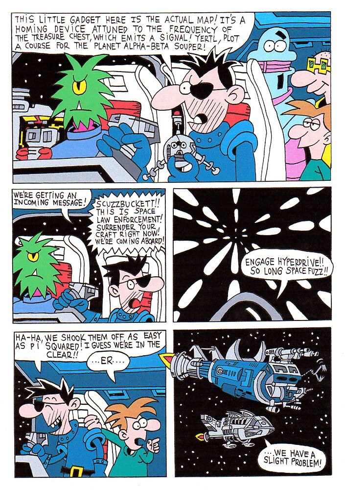 SPACECAPADES 14  by scurvey