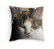 The Little Janet Throw Pillow